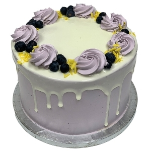 Blueberry Tower Cake